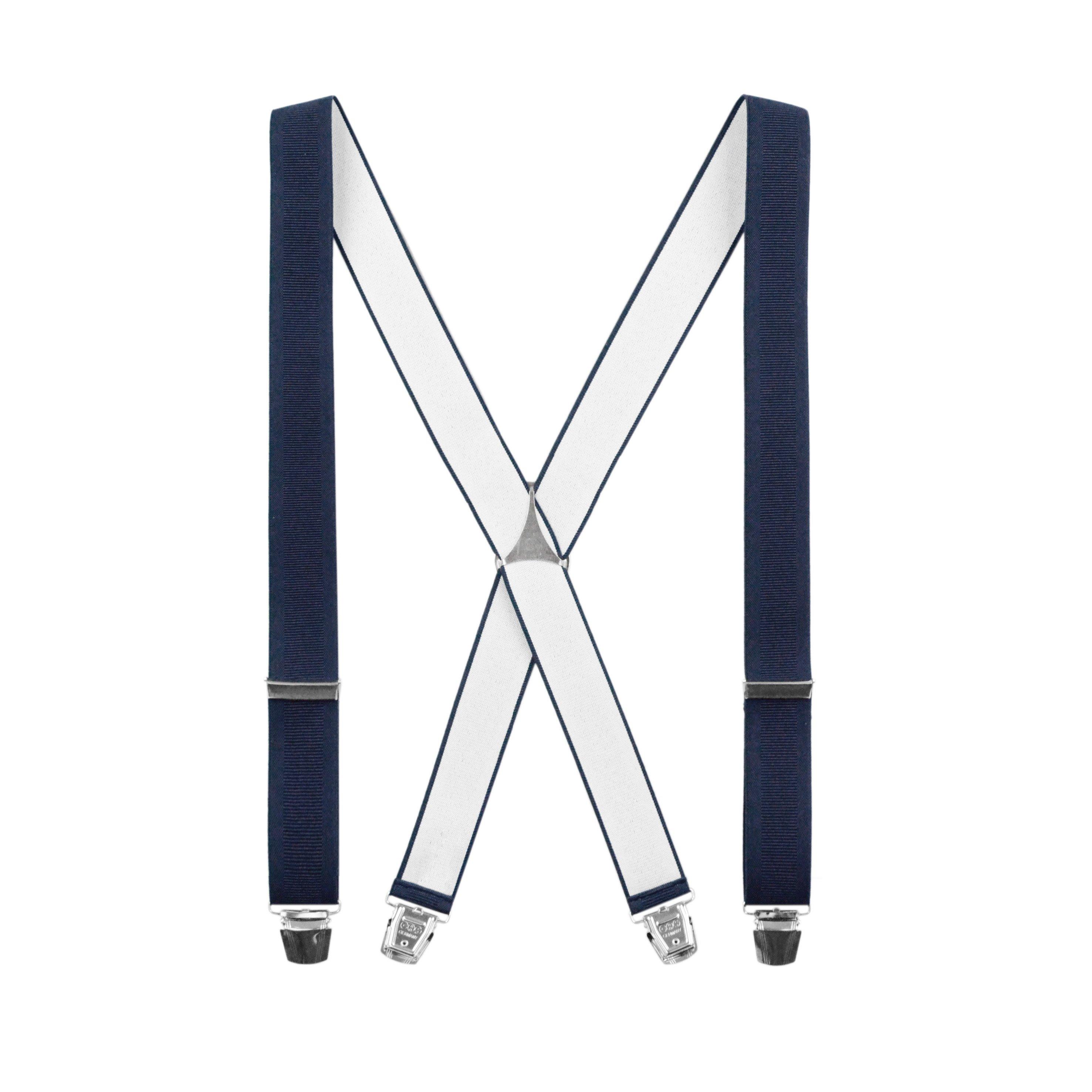 Bretelles classiques Forme X Bleu Pétrole